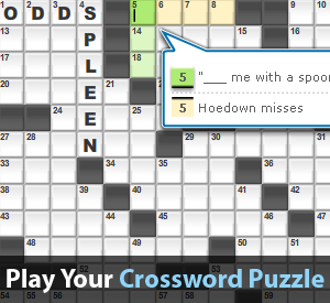 Free Crossword Puzzles Online Daily Crosswords